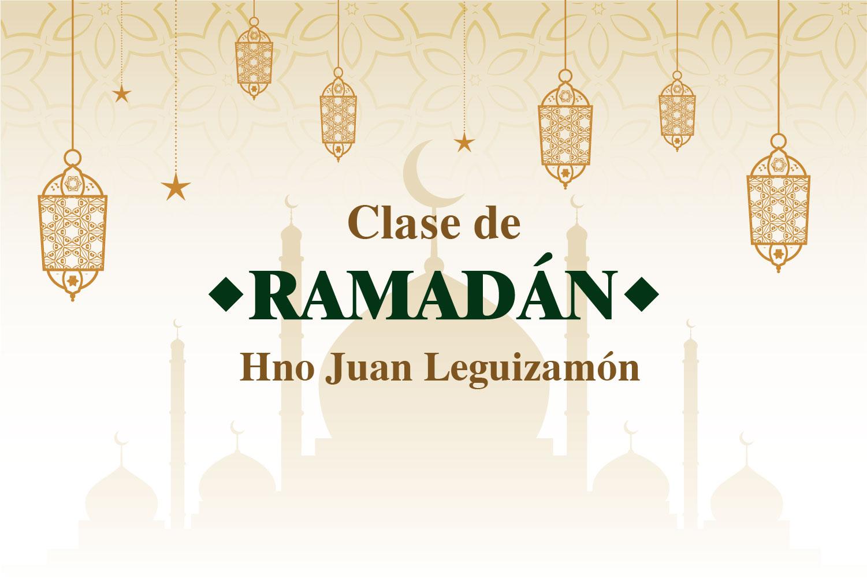 clases virtuales de Ramadán con el hno Juan Leguizamón