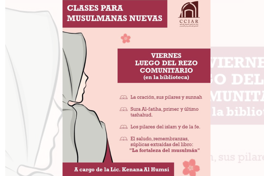 clases para mujeres musulmanas nuevas